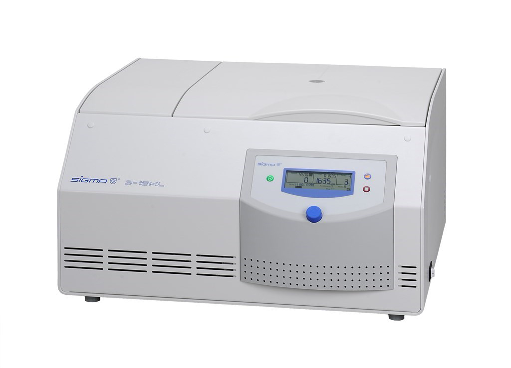 Sigma 3-16KL refrigerated table top centrifuge
