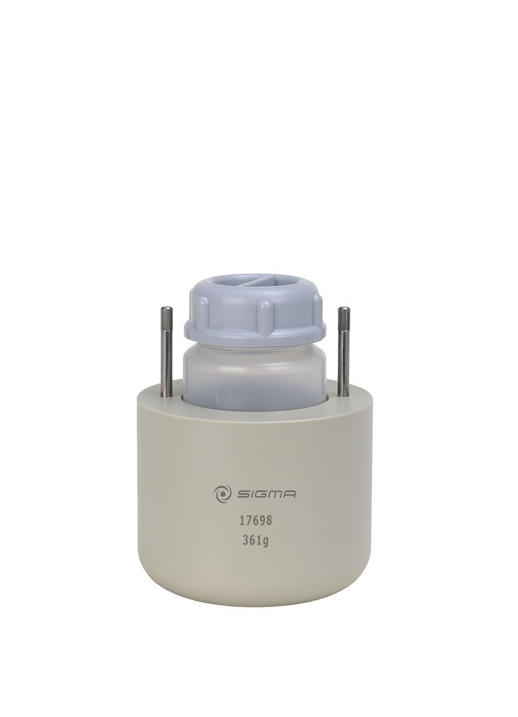Round carrier for one bottle w. flat bottom 250 ml