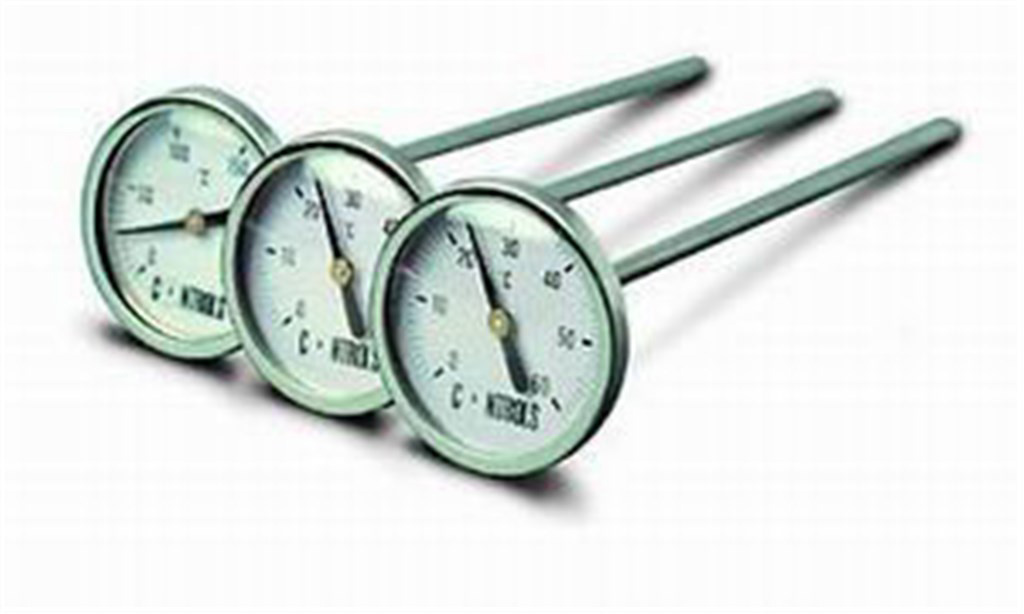 DIAL THERMOMETER 0 +250°C STEM 600 MM