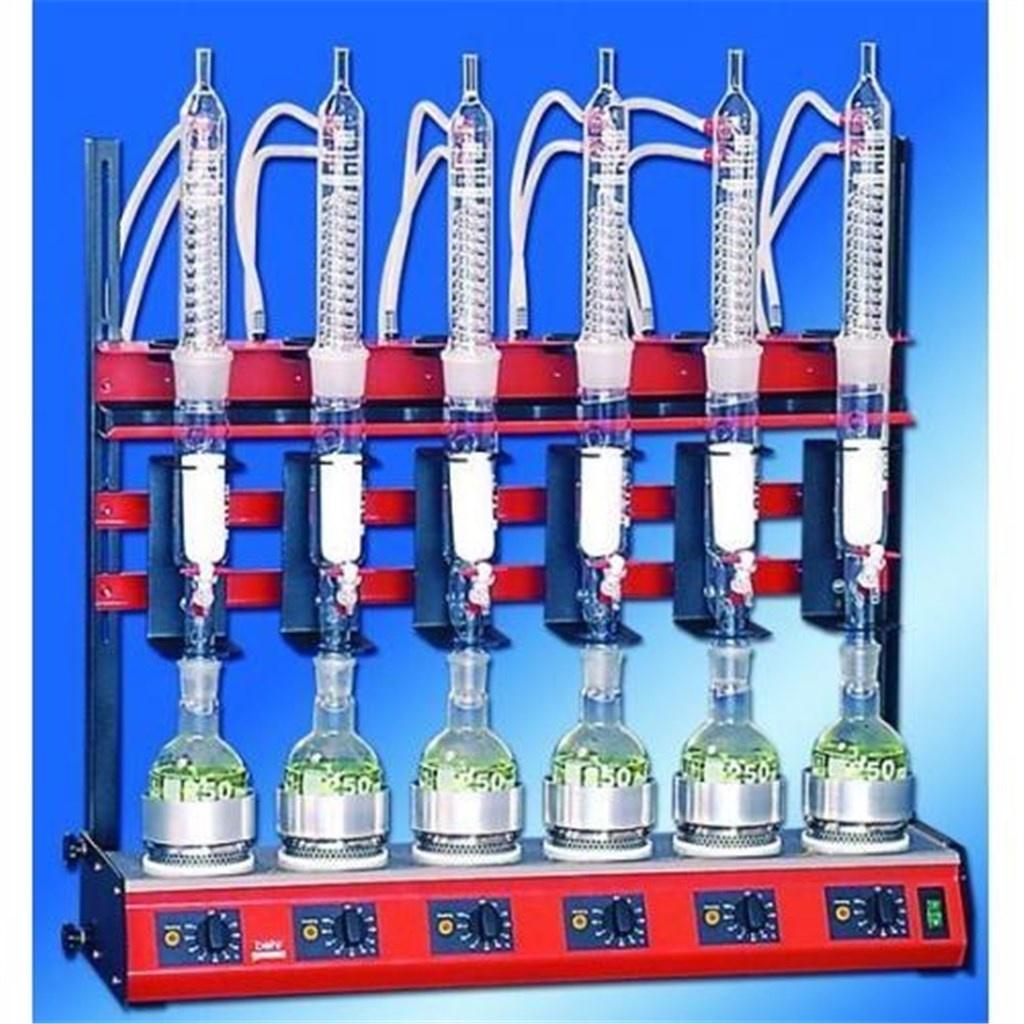 Soxhlet Extraction Unit R256s 6 Position 250ml Buch Holm A S