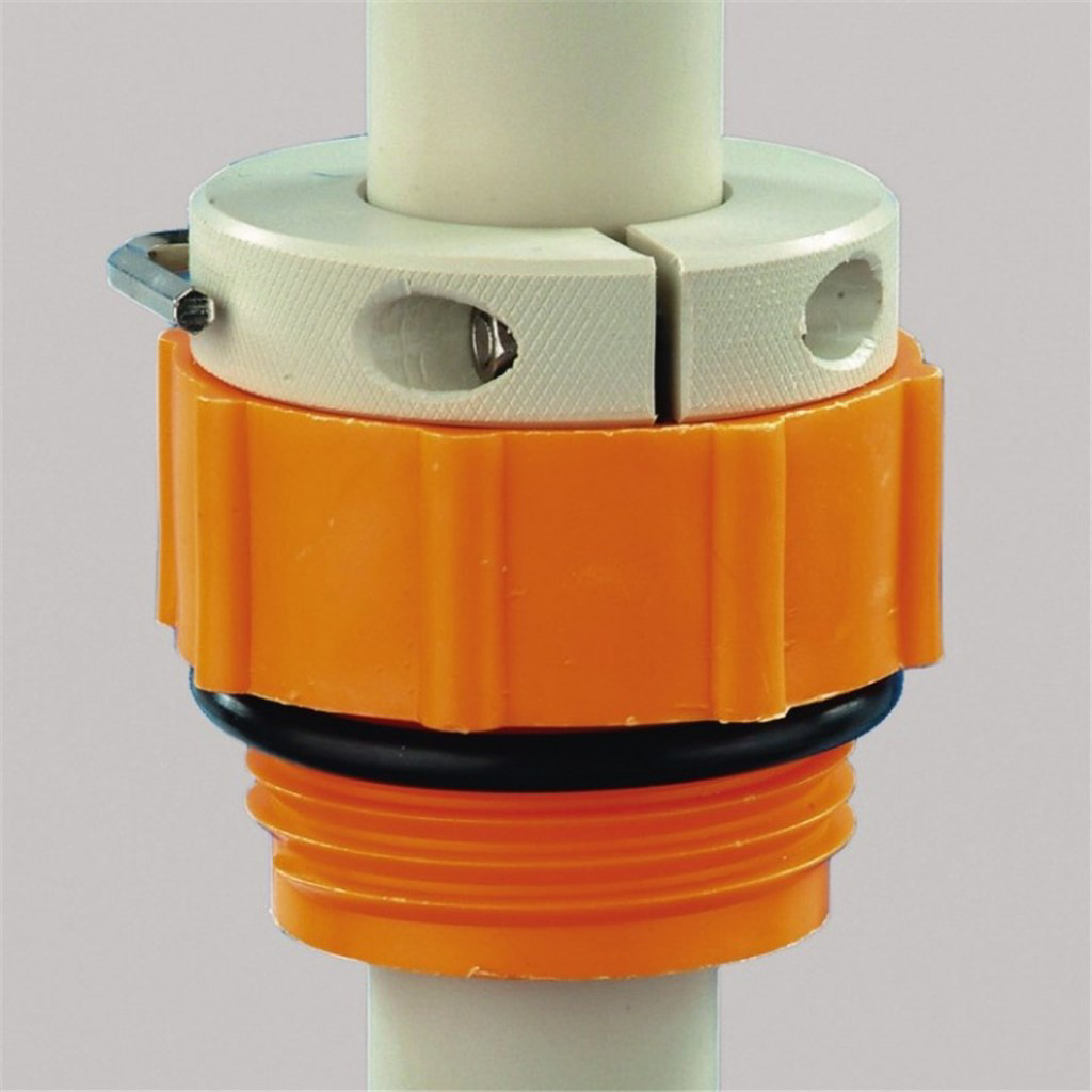 Screwthread connections for PP drum pump, Type Tr
