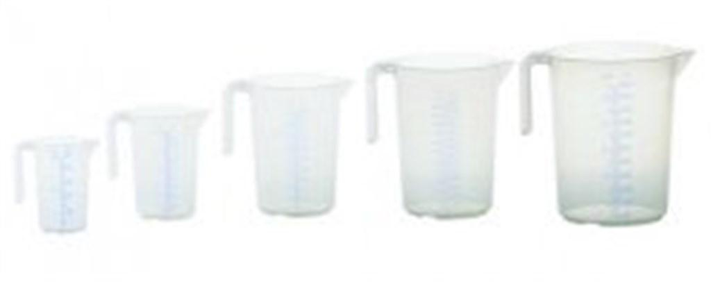 Measuring jug 2000ml, PP, 1 scale transparent, ope