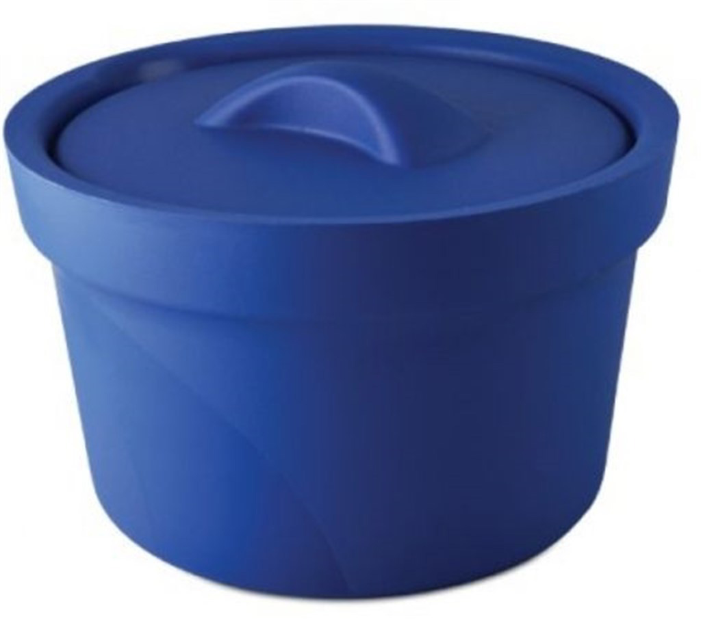 Icepan Magic Touch 2, 2.5 ltr., round, w/lid, blue