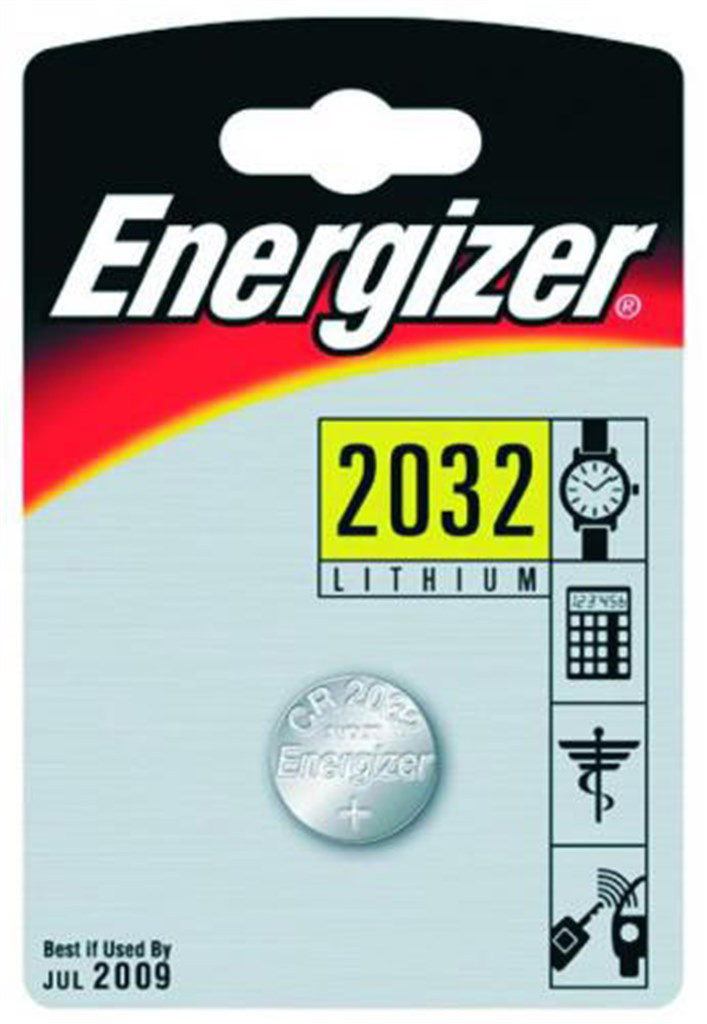 Lithium coin cells, Energizer, Type CR2016 , Volt