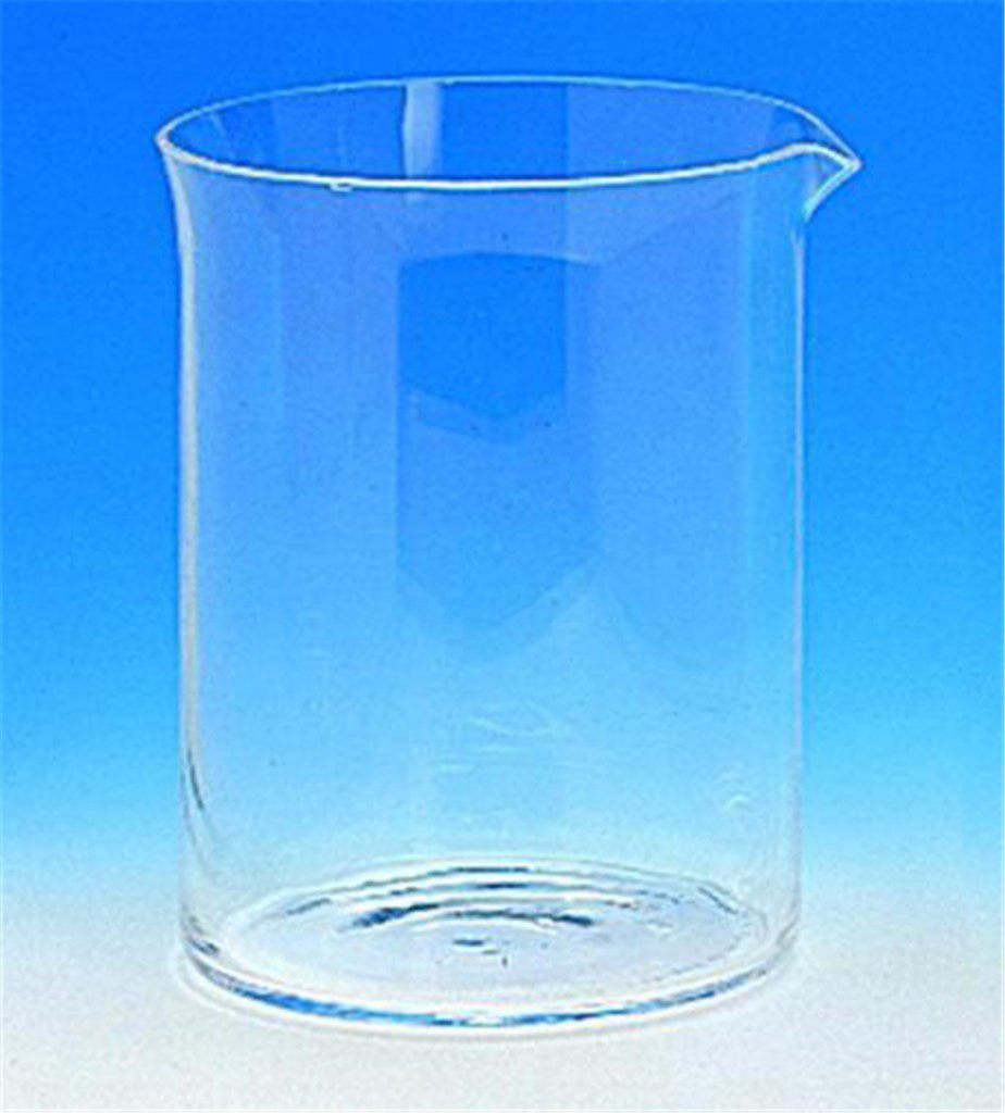 Beakers, low form, quartz glas s (silica), Capacit