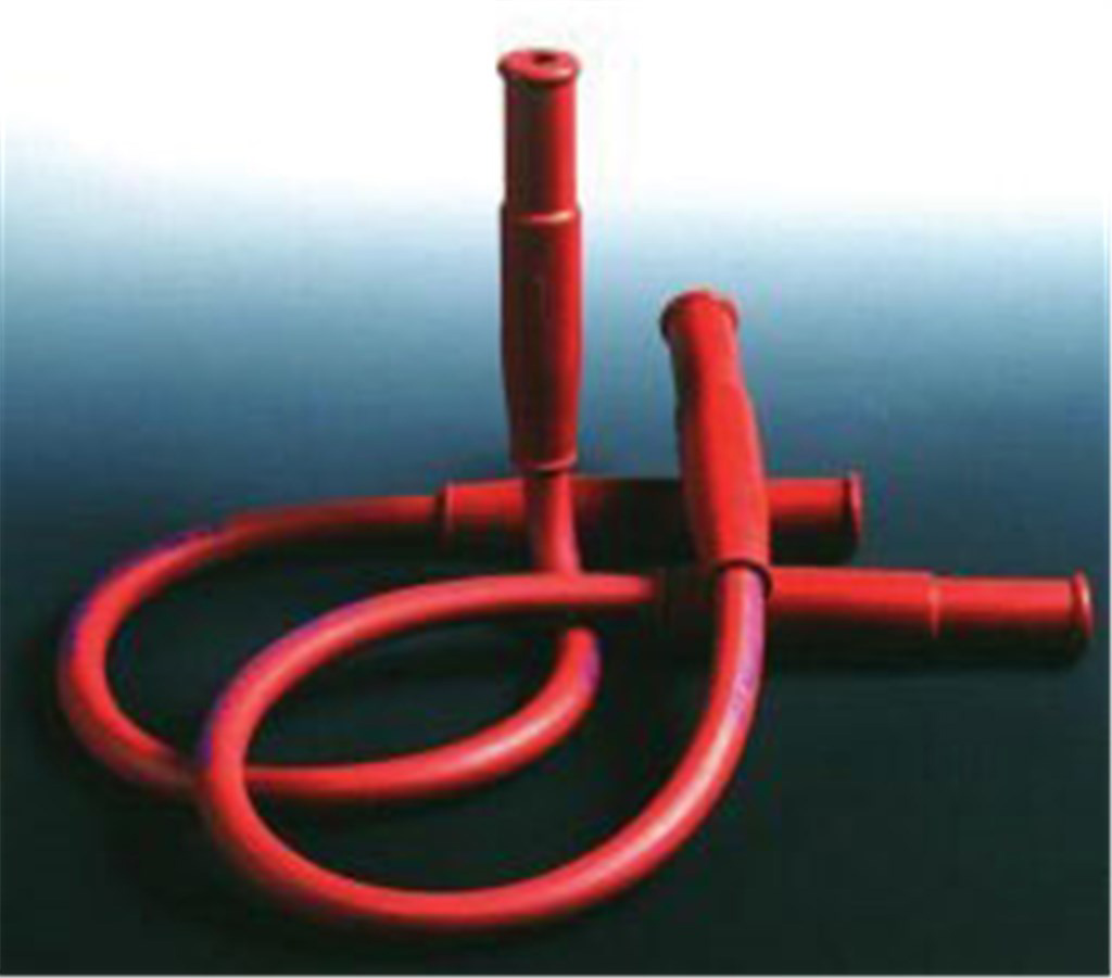 Gas safety tubing, 1250 mm