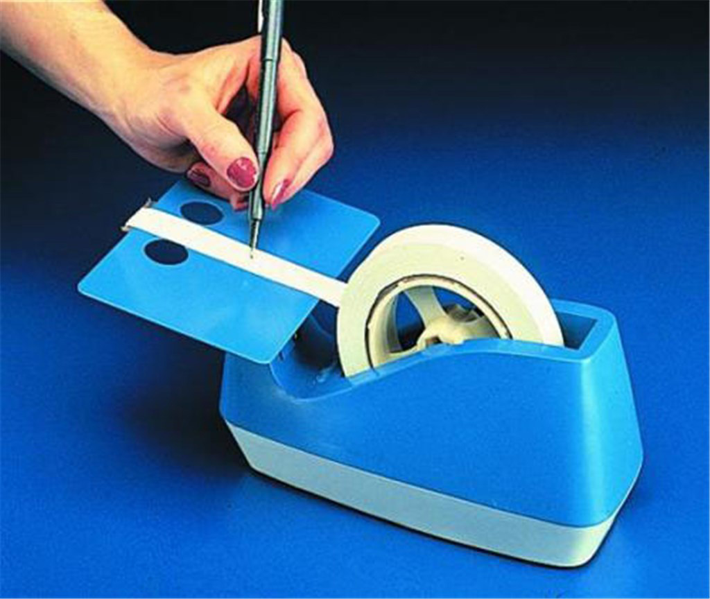 Adhesive tape dispenser, ''Wri te-on'', Type Write
