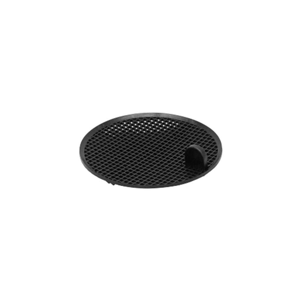 Replacement sieve for funnel with lid, black, cond