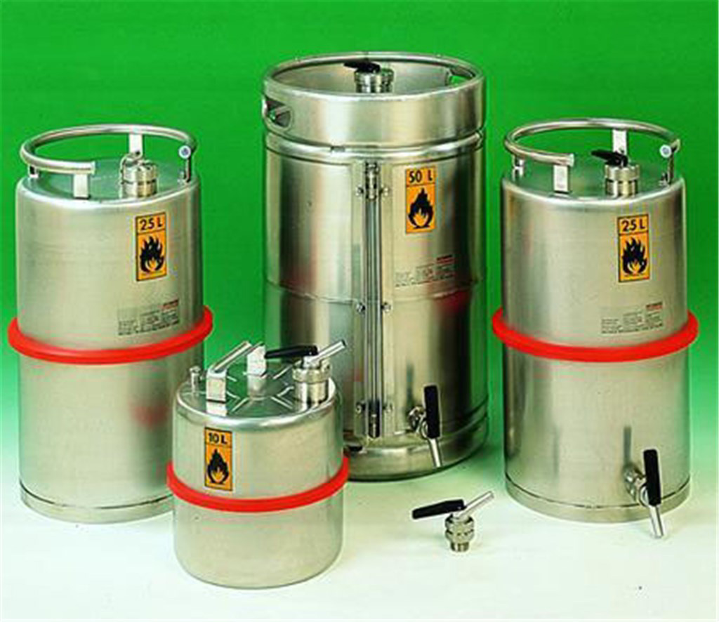 Safety storage vessel 25Z, 25 L, Ø315 mm, tap ¾""
