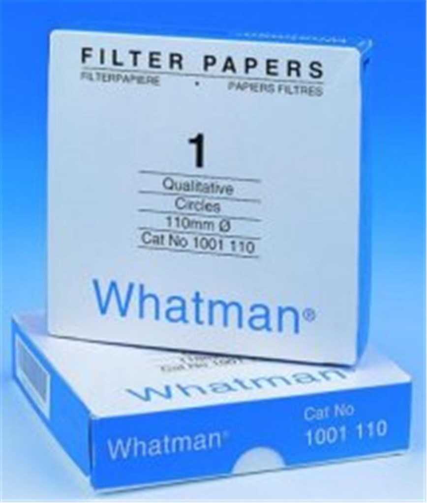 Filter paper, Grade 1, Whatman , Dia. 85 mm