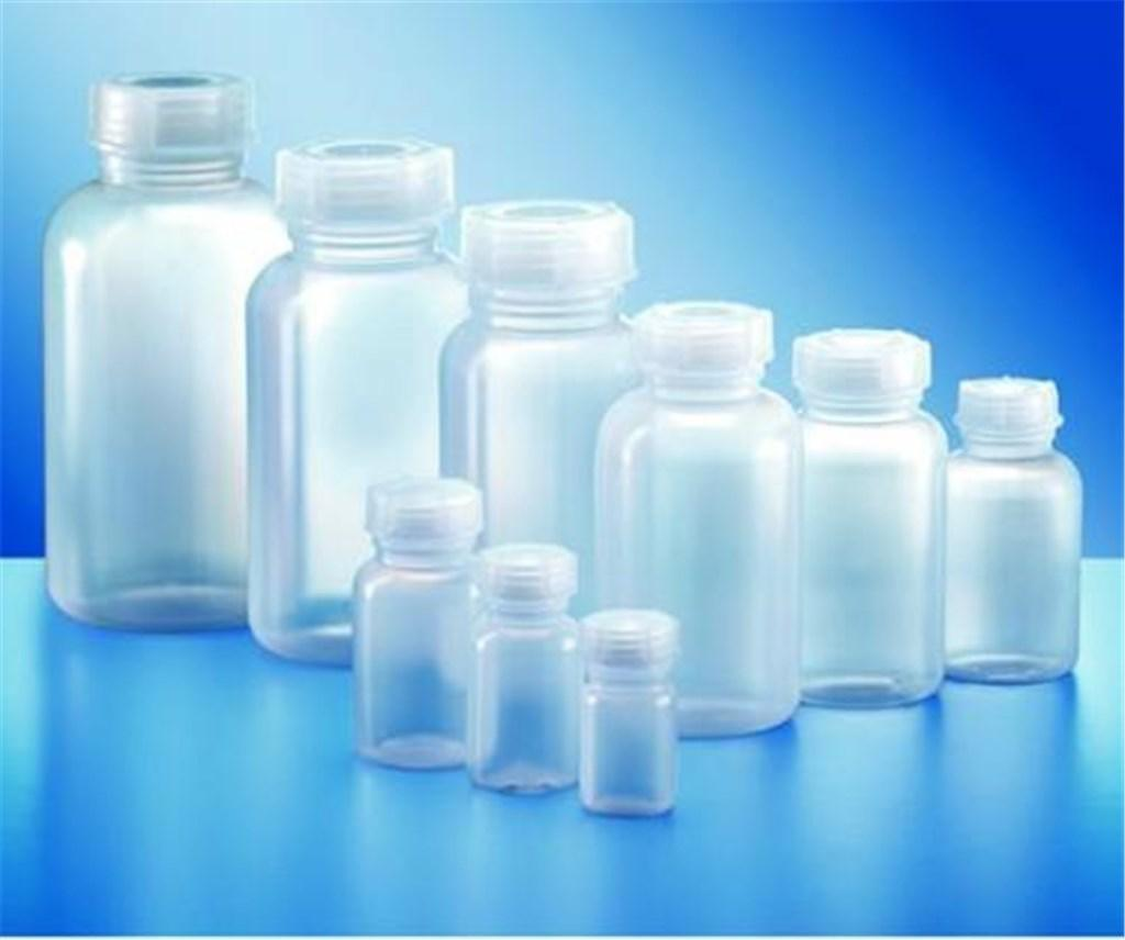LLG bottle, LDPE, wide neck, with lid, 1500 ml