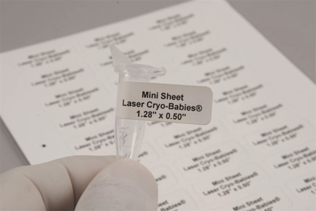 Laser-Cryo-Babies 33x13mm white, pack of 1700 (20x