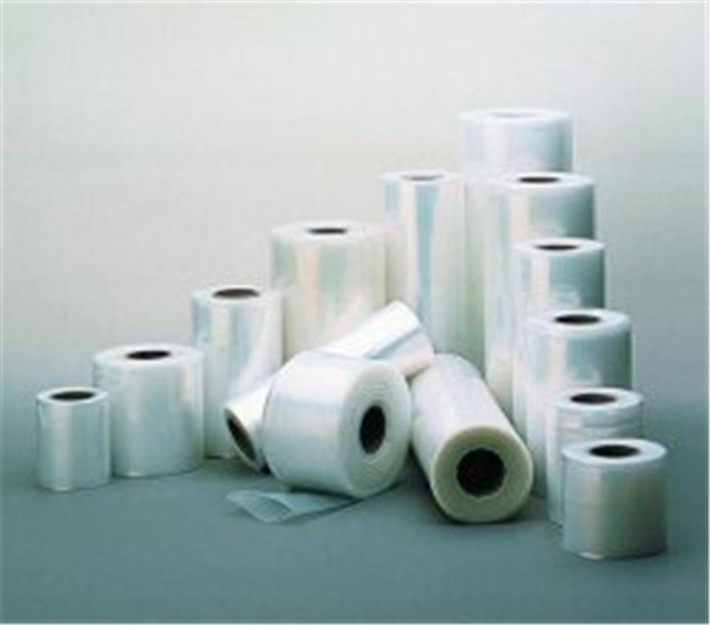 Plastic film 80x0,05 mm tubula r, transparent in r