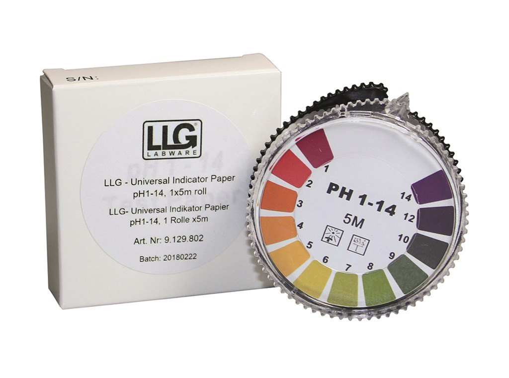 LLG-Universal Indicator paper pH 1 – 14, refill