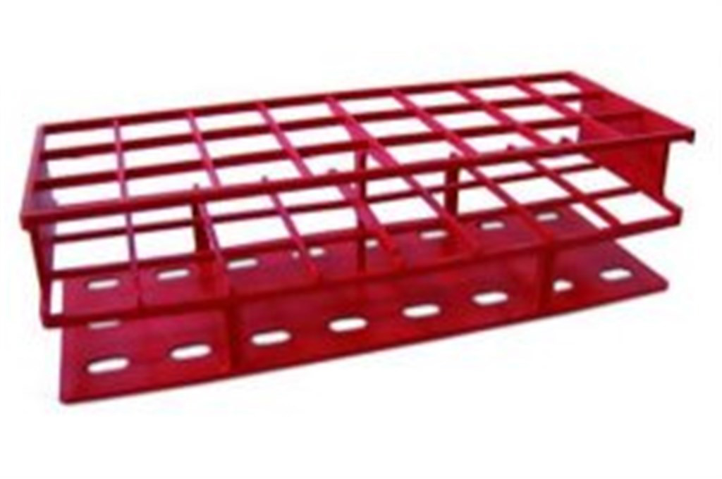Test tube racks, polyketone, A rray 4 x 10 , For t