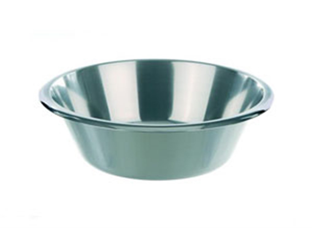 Basins, stainless steel, Capac ity 8000 ml, Ext. d