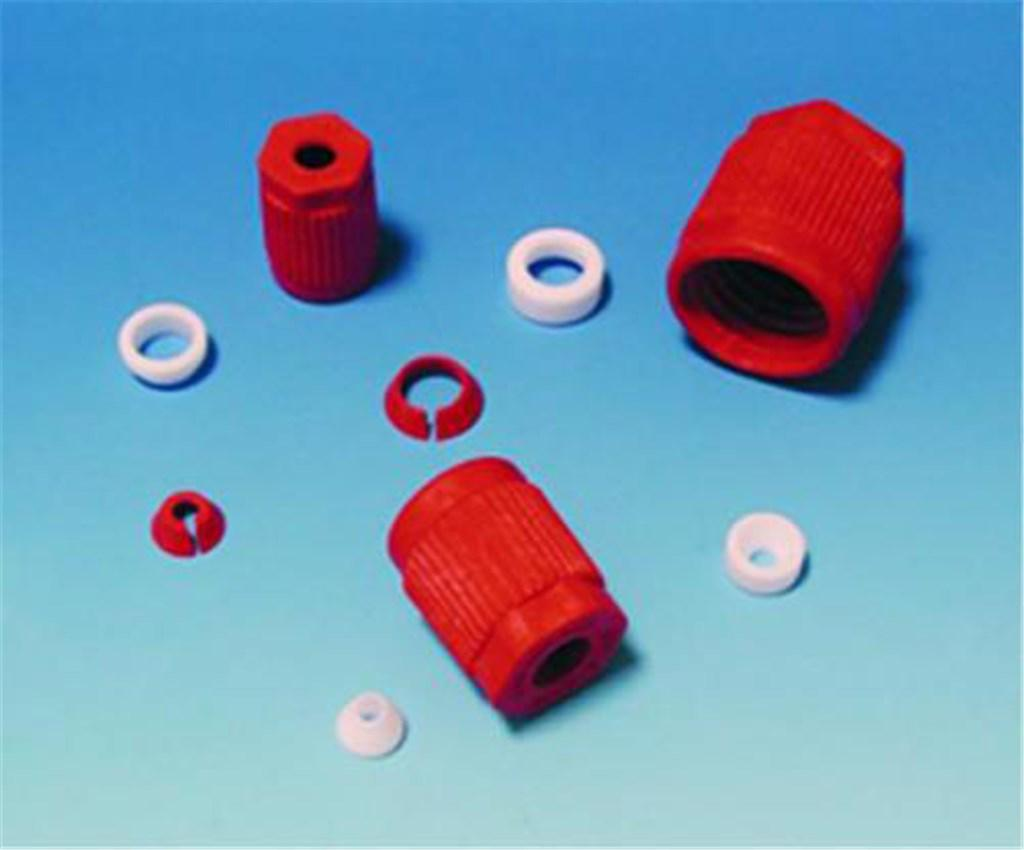 Laboratory threaded joints, G L 14, PTFE with ETF
