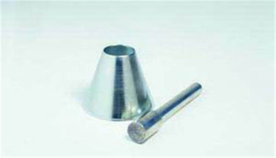 Sand absorption cone/tamper