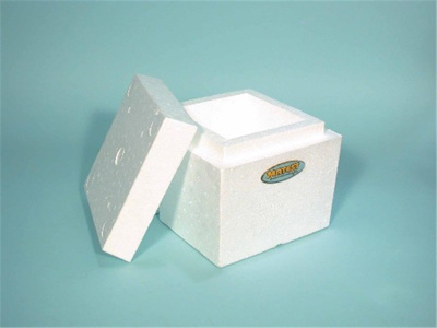 POLYSTYRENE CUBE MOULD 150MM (48 PCS)