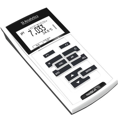Pocket-pH-Meter Set handylab HL100 Versatile, case