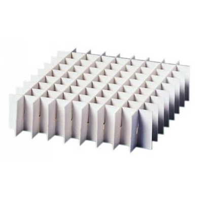 Dividers for133x133 mm box, H:22 mm, 9 x 9 rum