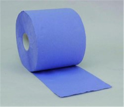 6 Cleaning Cloth Roll Cleaning Tissues 2 PLY Embossed with perforation 19cm x 50m 60121