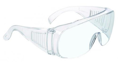 LLG-Protection spectacles Type 520 frame clear