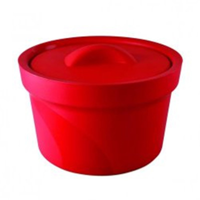 Icepan Magic Touch 2, 2.5 ltr., round, w/lid, red