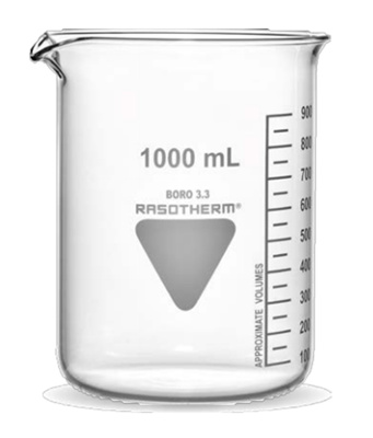 Beakers, low form, 25 ml