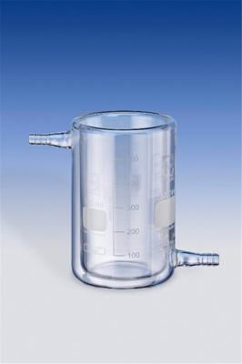 Beakers, glass, jacketed, Dura n, Capacity 2000 ml