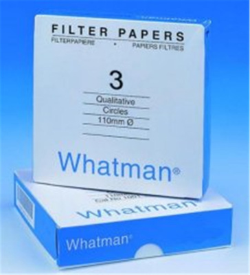 Filter paper, Grade 3, Whatman , Dia. 185 mm