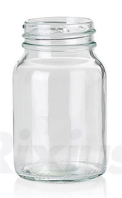 Wide-neck bottles 150 ml, clear RD.45  w/o 7075021