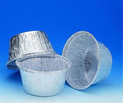 Aluminium foil containers, 28 ml