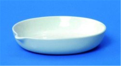 LLG porcelain evaporating dish, Ø200x55 mm, 1100 m