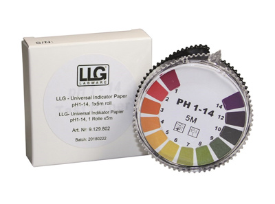 LLG-Universal Indicator paper pH 1 – 11, refill