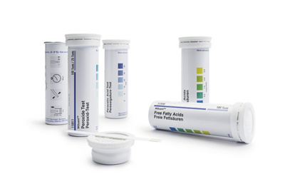 Test strips, Merckoquant, For Nickel , Measuring