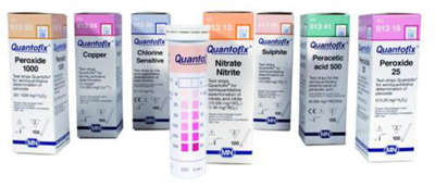Test strips, Quantofix, For Ch loride , Measuring