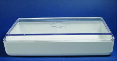 Instrument boxes, melamine res in, Width 240 mm, L
