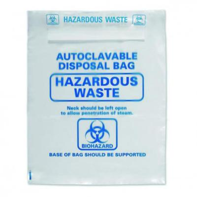 LLG-Waste bags 415x600 mm PP, autoclavable